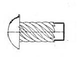 screw nail  2x 4    FeZn&