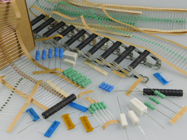 Resistors THT axial